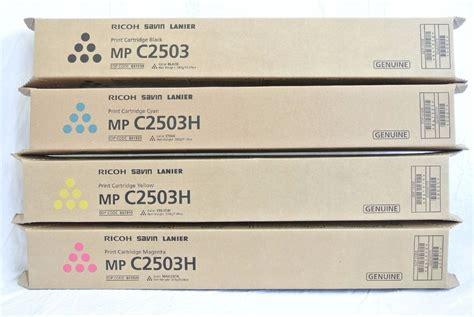Toner Original Ricoh M P C 2503 kit toner ricoh mp c2003 2503 kcmy original ricoh r 1