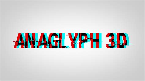 3d Effekt by How To Make Anaglyph 3d Text