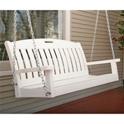 vinyl porch swing how to install vinyl outdoor swings tomcomknowshow
