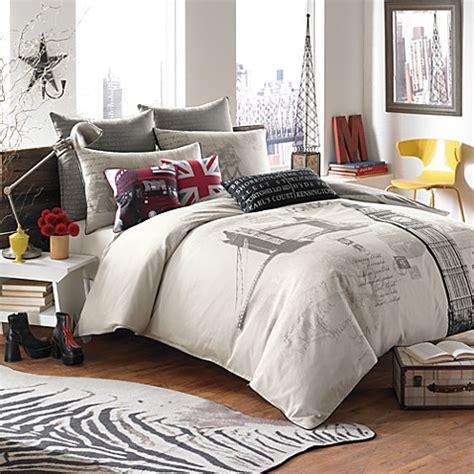 london bedding set london town duvet cover set 100 cotton bed bath beyond