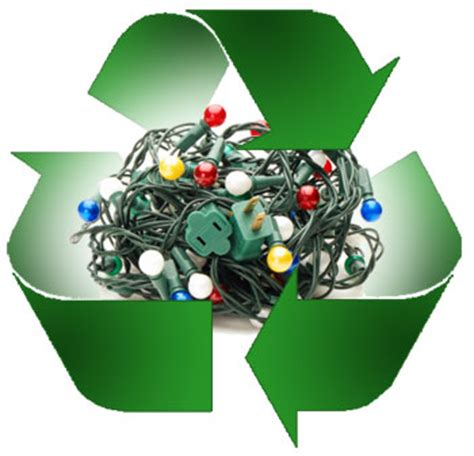 organize in your community to recycle inefficient holiday