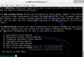 Rekayasa Sosial 1 cara hacking dengan kali linux