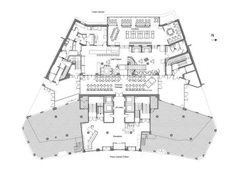 Floor Plan Elevation gallery of generator paris designagency 22