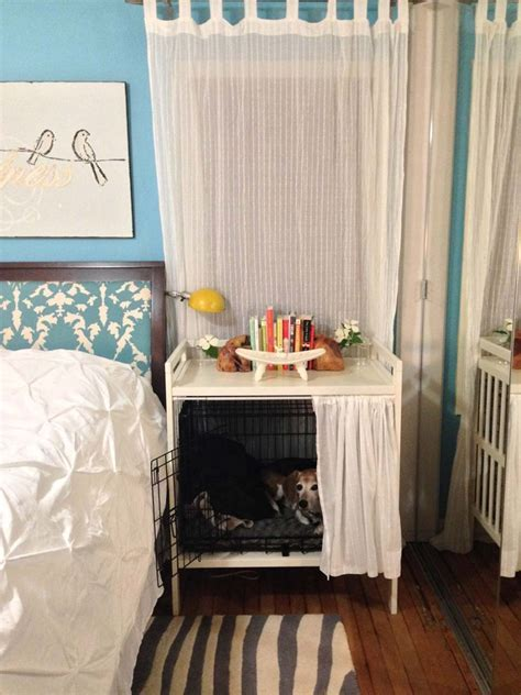 Dog Crate AND Bedside Table   IKEA Hackers   IKEA Hackers