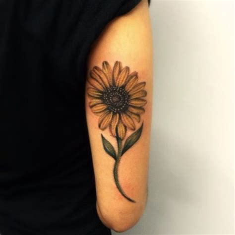 sunflower arm tattoo 50 amazing sunflower ideas for creative juice