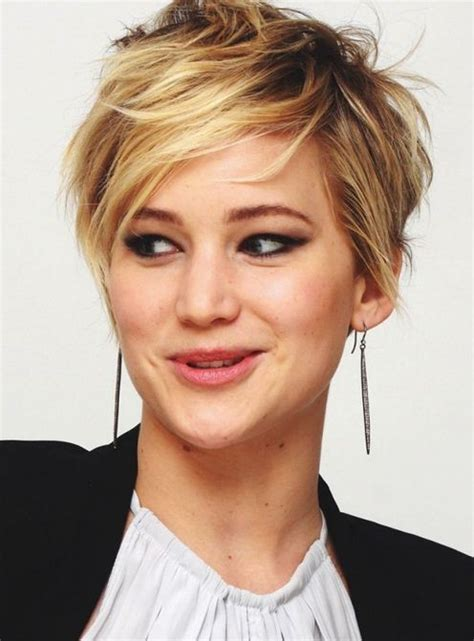 is jennifer lawrence hair cut above ears or just tucked behind 220 nl 252 lerin en iyi kısa sa 231 modelleri ve kesimleri 2014