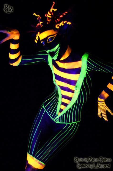 uv light for snakes uv light paint snake suit by doomsday on
