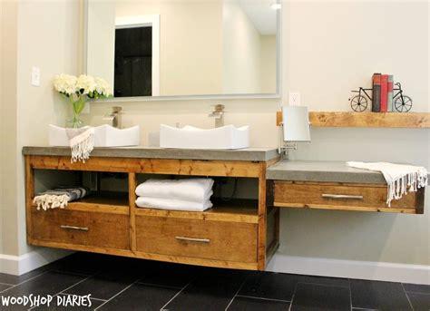 diy bathroom vanity  bathroom rehabs bob vila