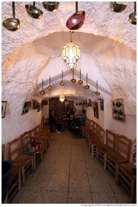 Homes Interiors Interior Of Cueva La Z Ara Z Ara Cave A Cave House Bar