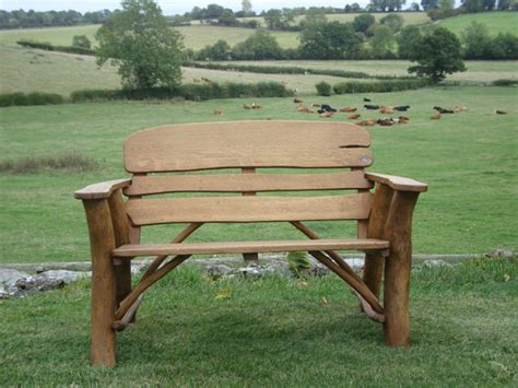 oak memorial benches memorial benches mini rustic oak bench 1150