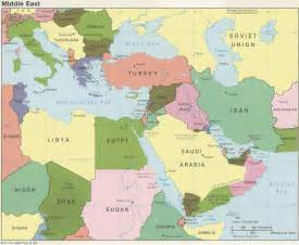 Maps Middle East by Middle East Political Map 1985 Full Size