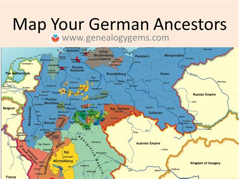 map of the germany 3 free german genealogy websites maps of germany and