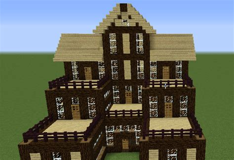 wooden house designs minecraft wooden house 6 grabcraft your number one source for minecraft buildings