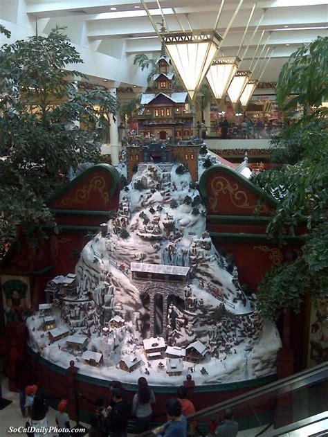 christmas at the south coast plaza mall southern