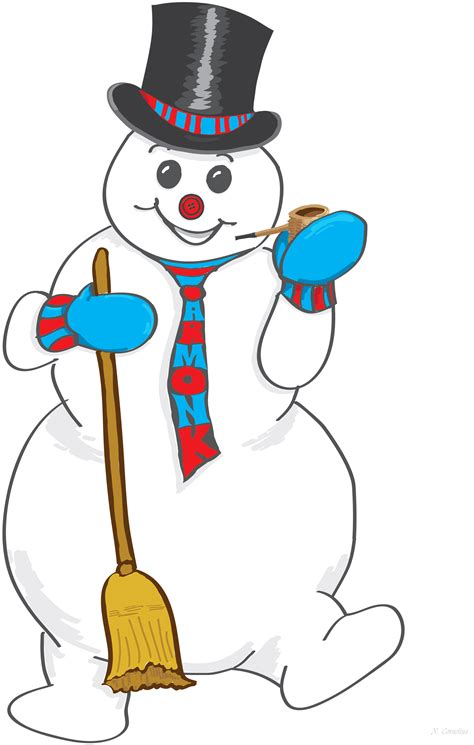 frosty the snowman clip clip library