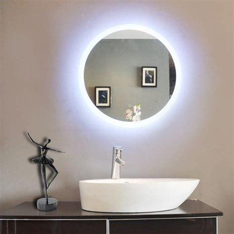 round bathroom mirrors with lights paris mirror round bathroom with led backlight from sweet