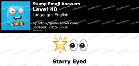 emoji quiz level 40 stump emoji level 40 game solver