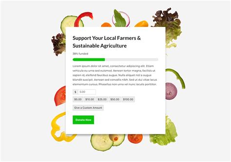 donation section how to create a giving tuesday landing page with divi and