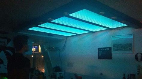 Infinity Ceiling by Infinity Mirrors Ceiling And Led Lighting Maker Amino