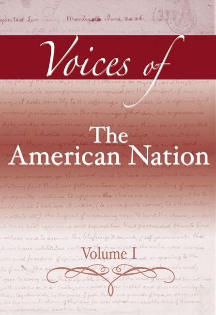 Garraty American Nation Outlines by Carnes Garraty Voices Of The American Nation Revised Edition Volume 1 Pearson