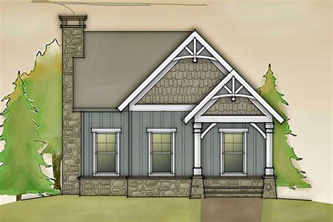 cottages floor plans design cottage with barn doors and loft 92365mx architectural