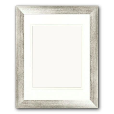 10 X 15 Matted Frames - ptm images 1 opening 8 in x 10 in matted silver portrait