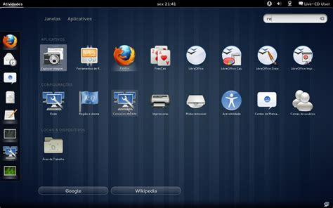 gnome menu themes linux like gnome shell como aumentar o tamanho da fonte