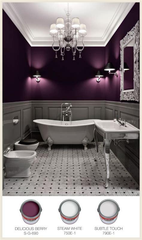 purple color bathroom this dreamy bathroom has unique lighting to cast