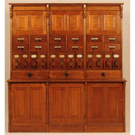 Filling Cabinet Tiger large tiger oak filing cabinet yawman erbe