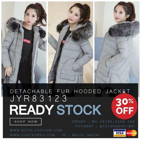 Jaket Hoodie Parka Winter Bulu jaket bulu hoodie bigsize coat import jaket