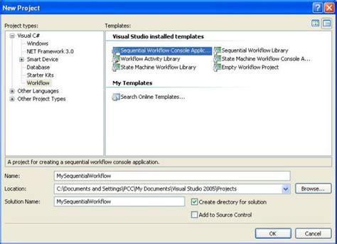 windows workflow foundation tutorial for beginners windows workflow foundation sequential workflow exle