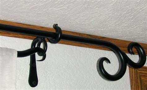 star curtain rod wrought iron star curtain rod home design ideas