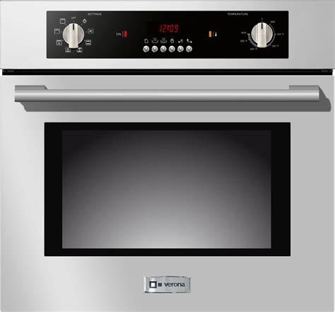 Oven Bima No 2 verona vebiem241ss 24 inch single electric wall oven with 2 0 cu ft oven capacity 8 cooking