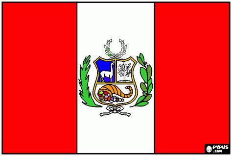 peru color peru s flag coloring page printable peru s flag