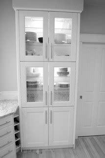 ikea ramsjo white cabinets wolf range contemporary