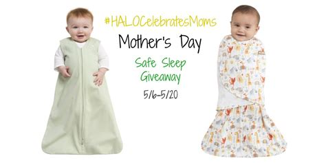 Halo Giveaway - enter to win a swaddle or halo sleep sack giveaway ends 5 20 halocelebratesmoms