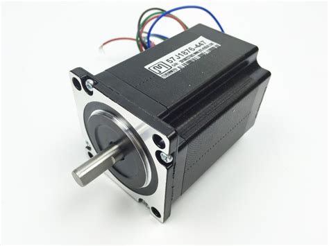 Best Quality 57 Stepper Motor Nema 23 2 Phase 2 2n M For Cnc Mesin Ai3 nema 23 2phase 2n m 283ozf in stepper motor 57mm frame 8mm shaft 57j1876 447 jmc in stepper
