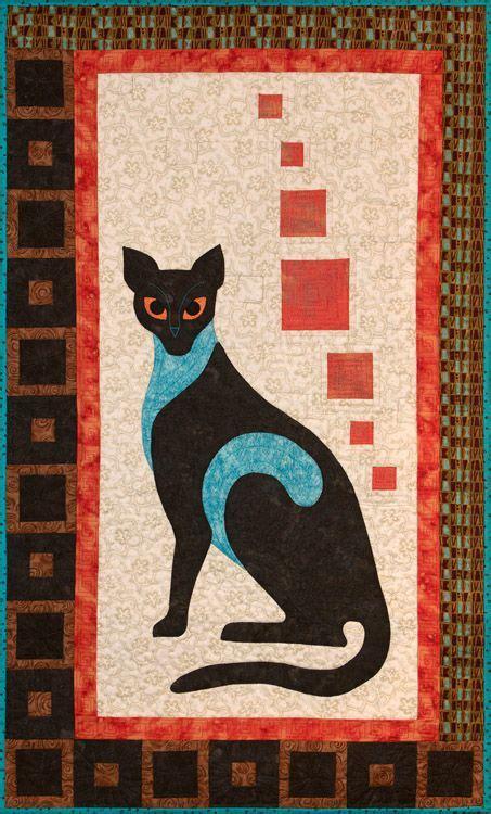 Patchwork Cats - 575 best cat quilts images on cat quilt cats