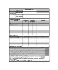 Project Sign Sheet Template by Sle Sign Form 7 Documents In Pdf
