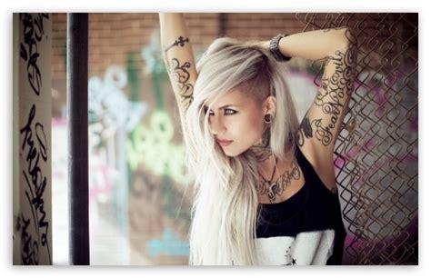 tattoo girl wallpaper 1080p blonde girl tattoos 4k hd desktop wallpaper for 4k ultra