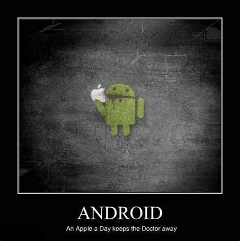 Android Quotes by Yoddler Android An Apple A Day Keeps The Doctor Away