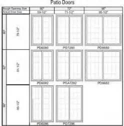 standard patio door dimensions best 25 sliding doors ideas on sliding