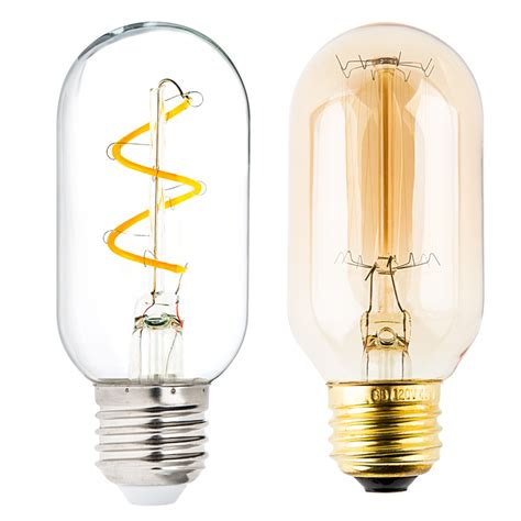 Flexible Filament Led Bulb T14 Carbon Filament Style Led Light Bulbs 25 Watt Equivalent