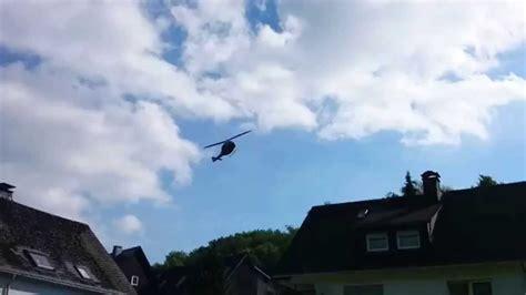 hsk olsberg helikopter nach dem flugzeugabsturz in olsberg elpe