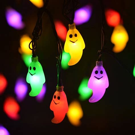 Delightful Battery Powered Outdoor Led Christmas Lights #5: Ghost-Solar-String-Lights-Outdoor-Halloween-Decorations.jpg
