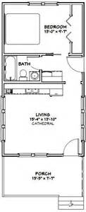 Excellent Floor Plans 16x30 Tiny House 16x30h5 480 Sq Ft Excellent