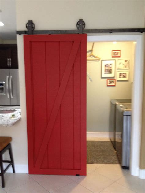 Barn Door Laundry Room Laundry Room Barn Door For The House
