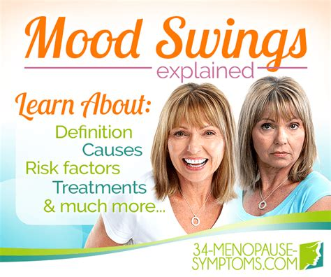 treatment for mood swings during period mood swings symptom information 34 menopause symptoms com