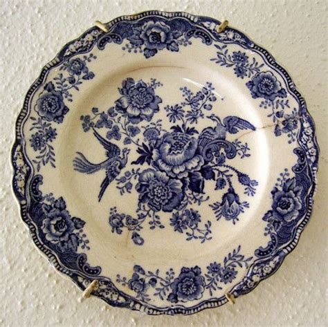 blue and white pattern plates old blue and white plate vintage blue white china