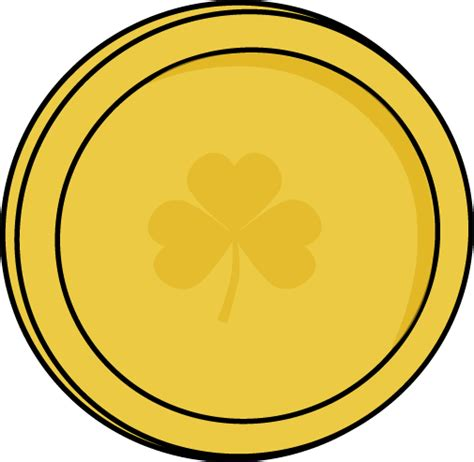 gold coin template printable gold coins clipart 43
